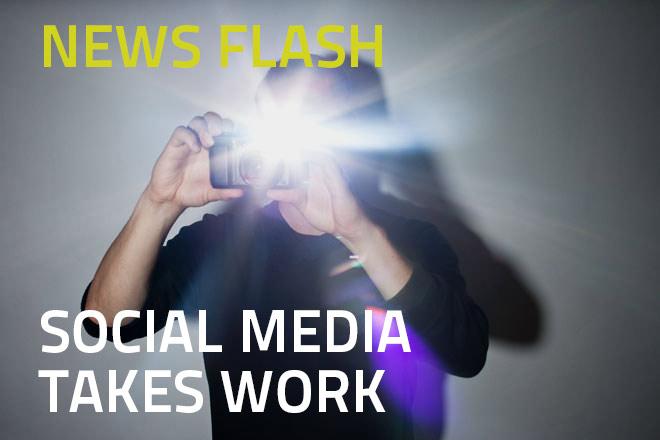 Social Media takes work. Social media picture quotes, Quotes to share on social media. Social media company