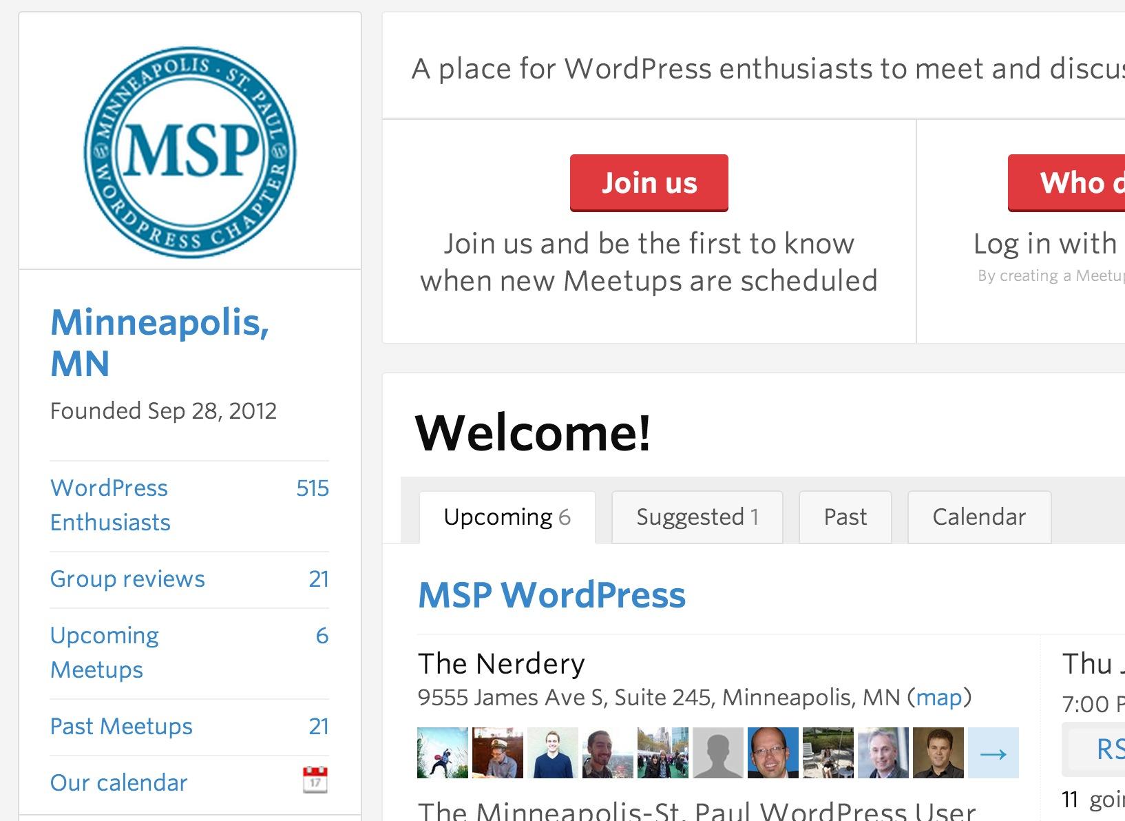 WordPress Meetup Minneapolis