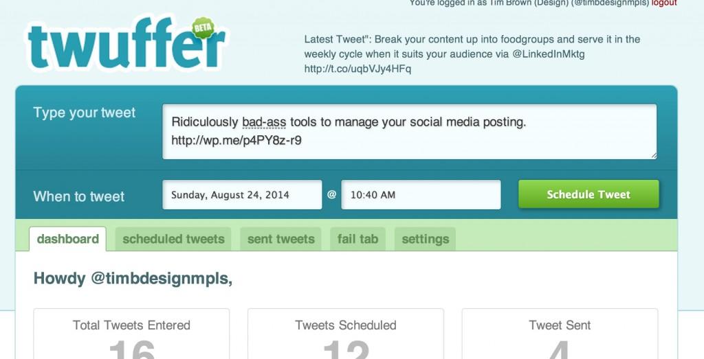 tools to manage social media posting