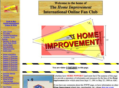 Home improvement Fan Club