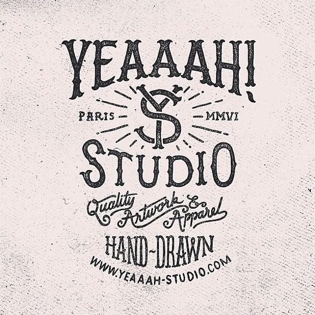 Yeaaah Studio Hand-drawn type