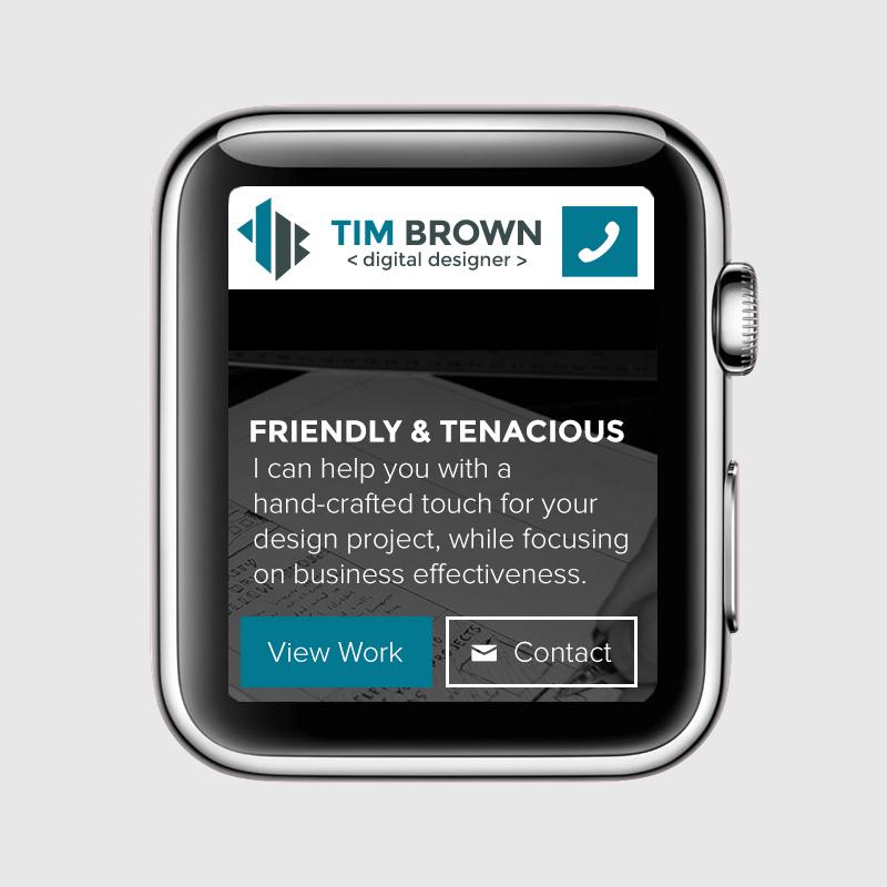Apple Watch Responsive design