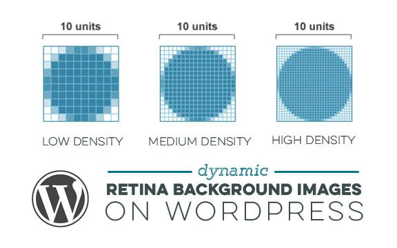 Dynamic WordPress Retina Background Images