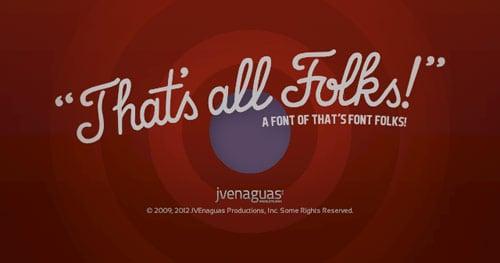 that's font folks - free download