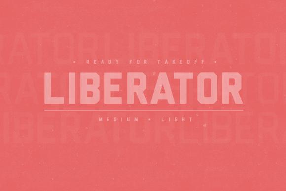 Free Download - Liberator font