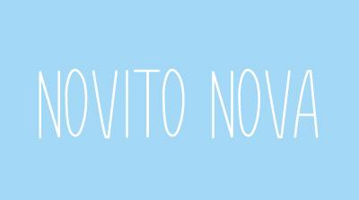 Novito Nova free font download