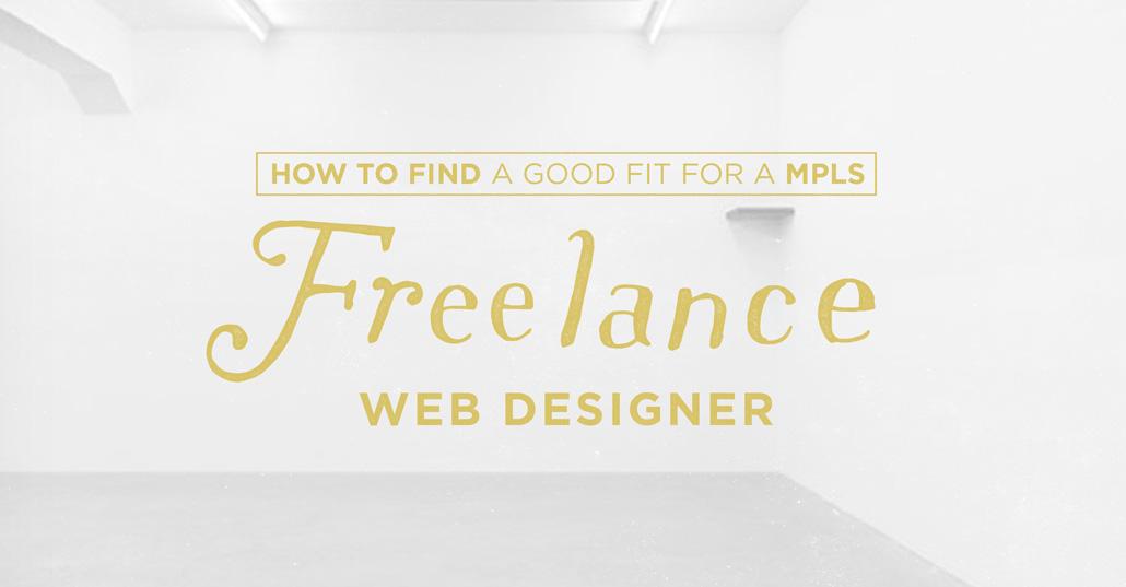 Freelance Web Designer Minneapolis