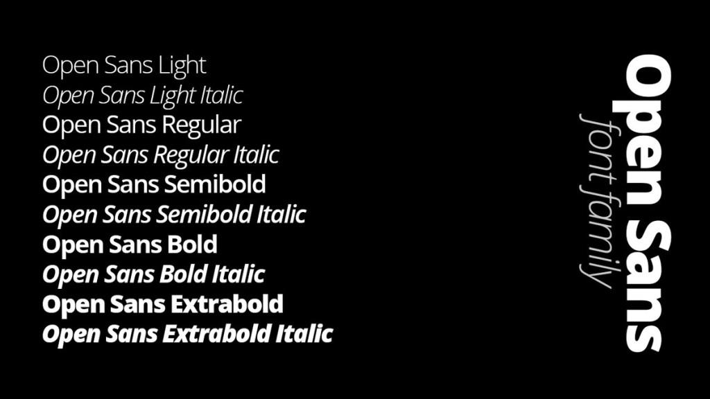 Best fonts for Web Design 2015
