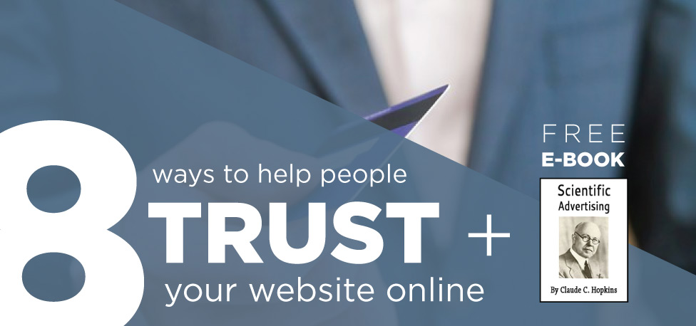 8 ways to help people trust your website online