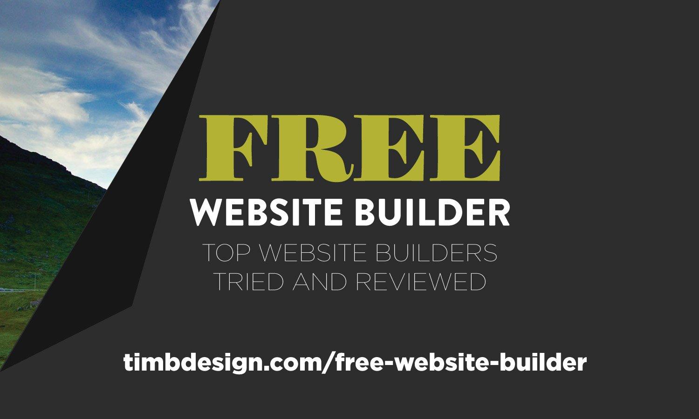 Free Website Builder - Top website builders tried and reviewed