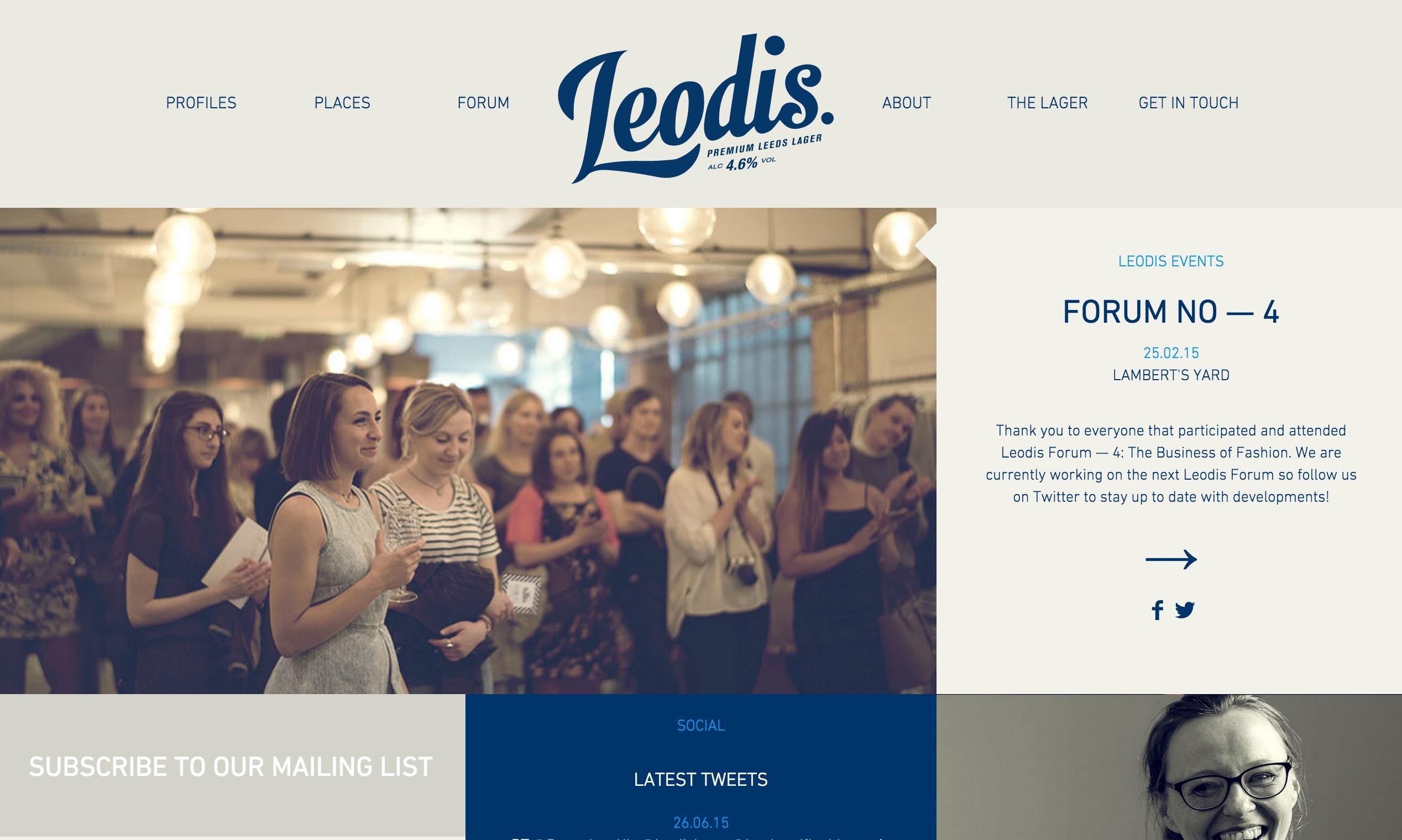Leodis Lager - Best Websites of 2016