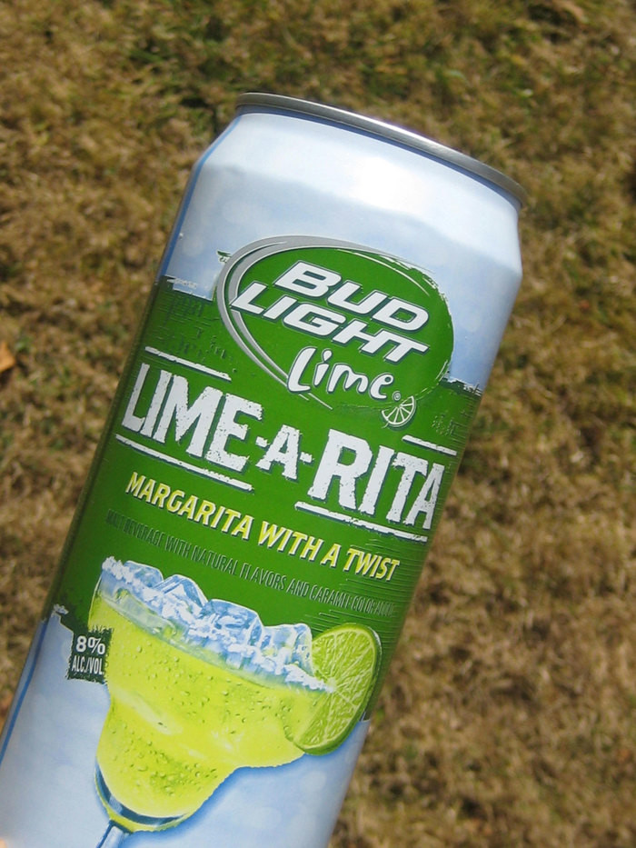 Lime-a-rita what font is that - Bud Light font