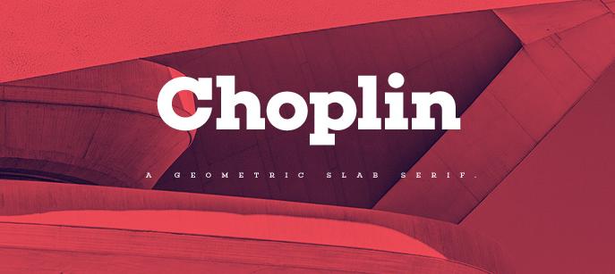 Choplin Slab Serif