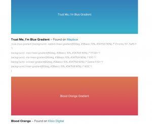 Gradients for Web design, Web Design Gradients, CSS Gradients, UI, UX, Graphic Design Gradients