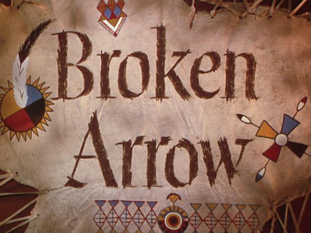 Broken Arrow, Hand-lettering in Movie Titles - Classic