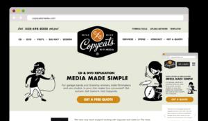 Copycats Media – Visual Design