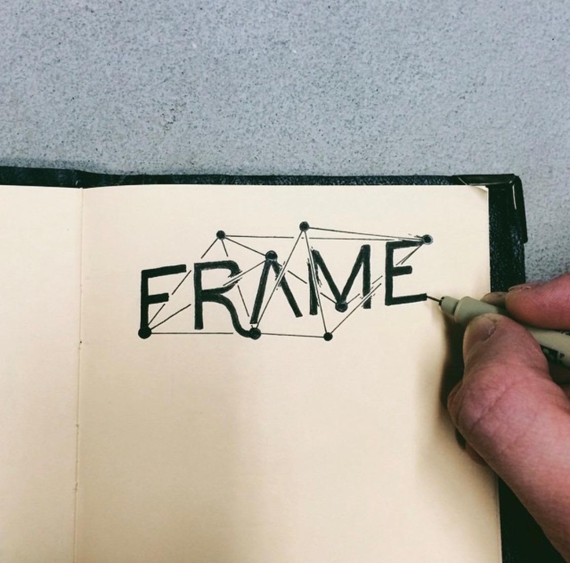 Frame Hand-lettering Inspiration
