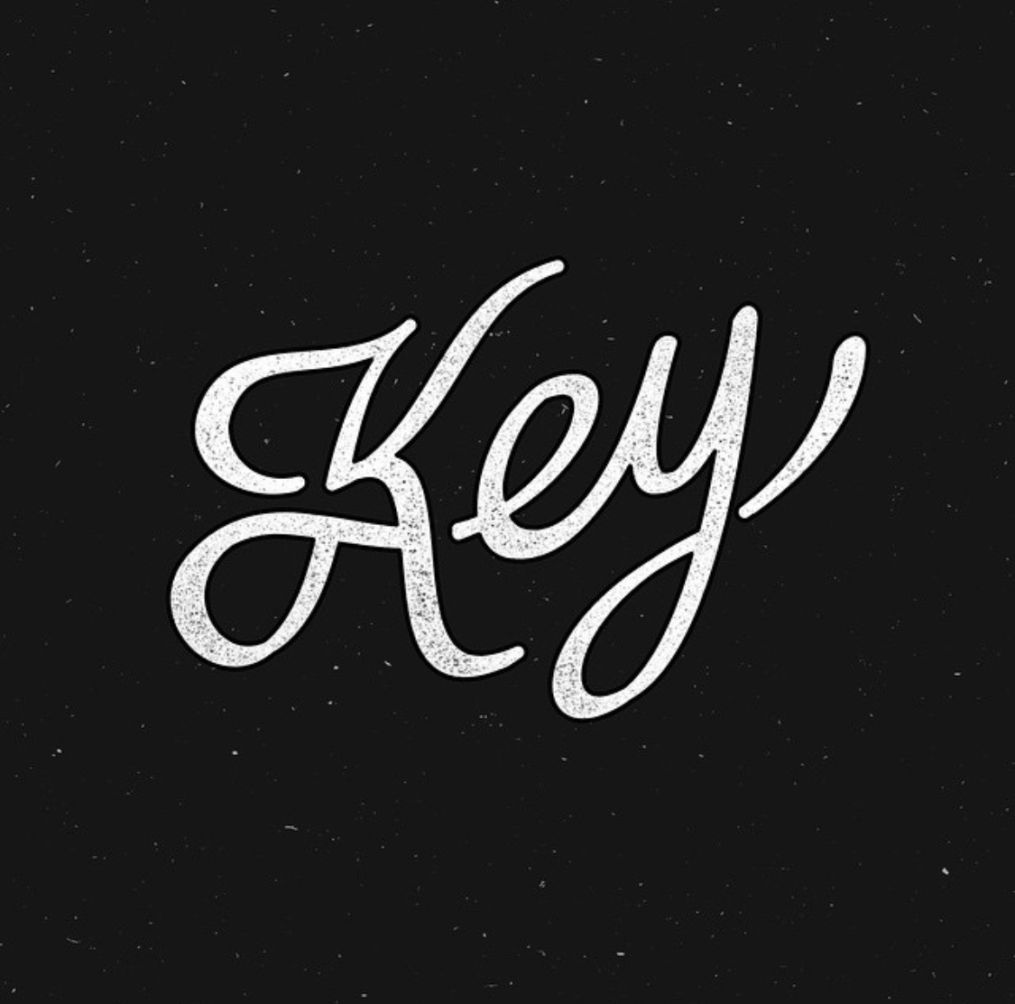 Key design and lettering