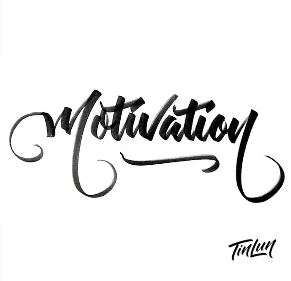 Motivation, Tin Lun Lettering