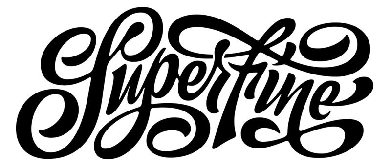 superfine swashes, swash lettering
