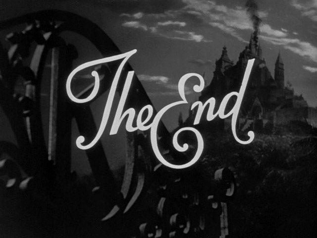 Citizen Kane - Movie Title - The End