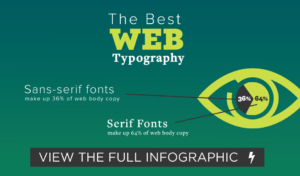What is the Best Web Typography? [Infographic]