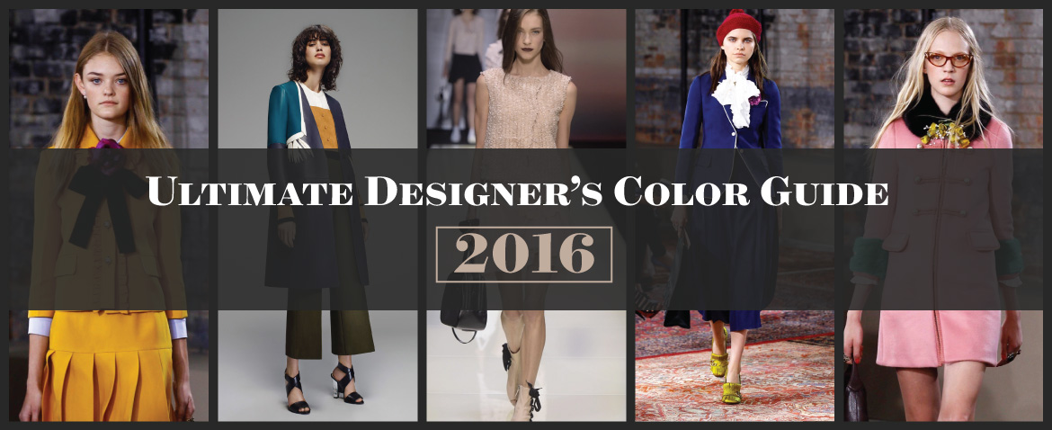 Ultimate Designer's Color Guide 2016
