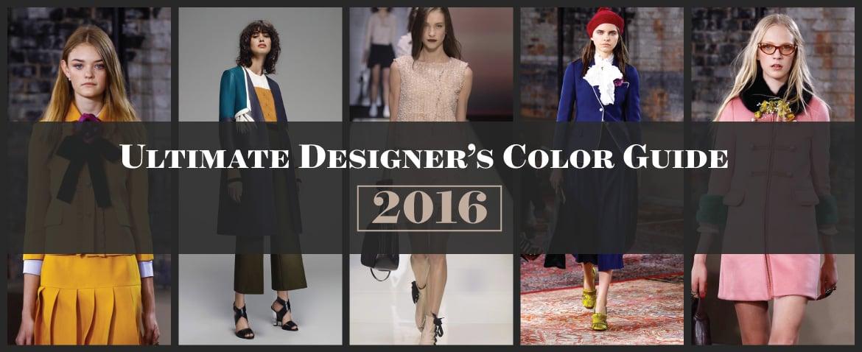 Ultimate Designer's Color Guide 2016