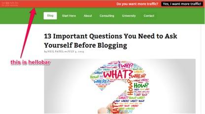 Hello Bar - Color in Websites- Big Mistakes for web design