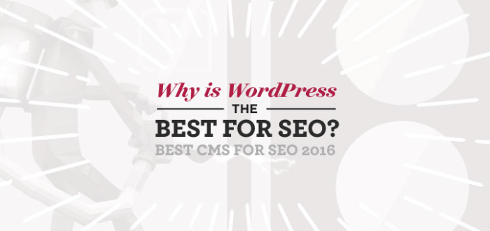 Why is WordPress the Best CMS for SEO? Best Content Management System for SEO 2016