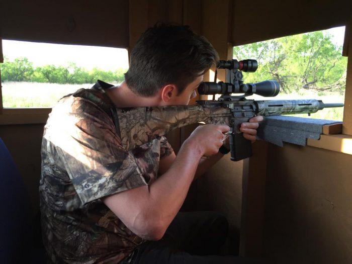 Gun - hog hunting