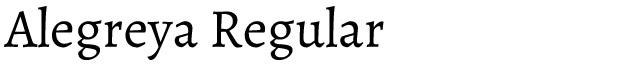 Alegreya Bold - Best Google Fonts for H1, H2, H3