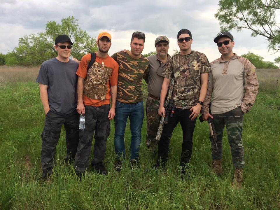 Hog Hunt in Texas