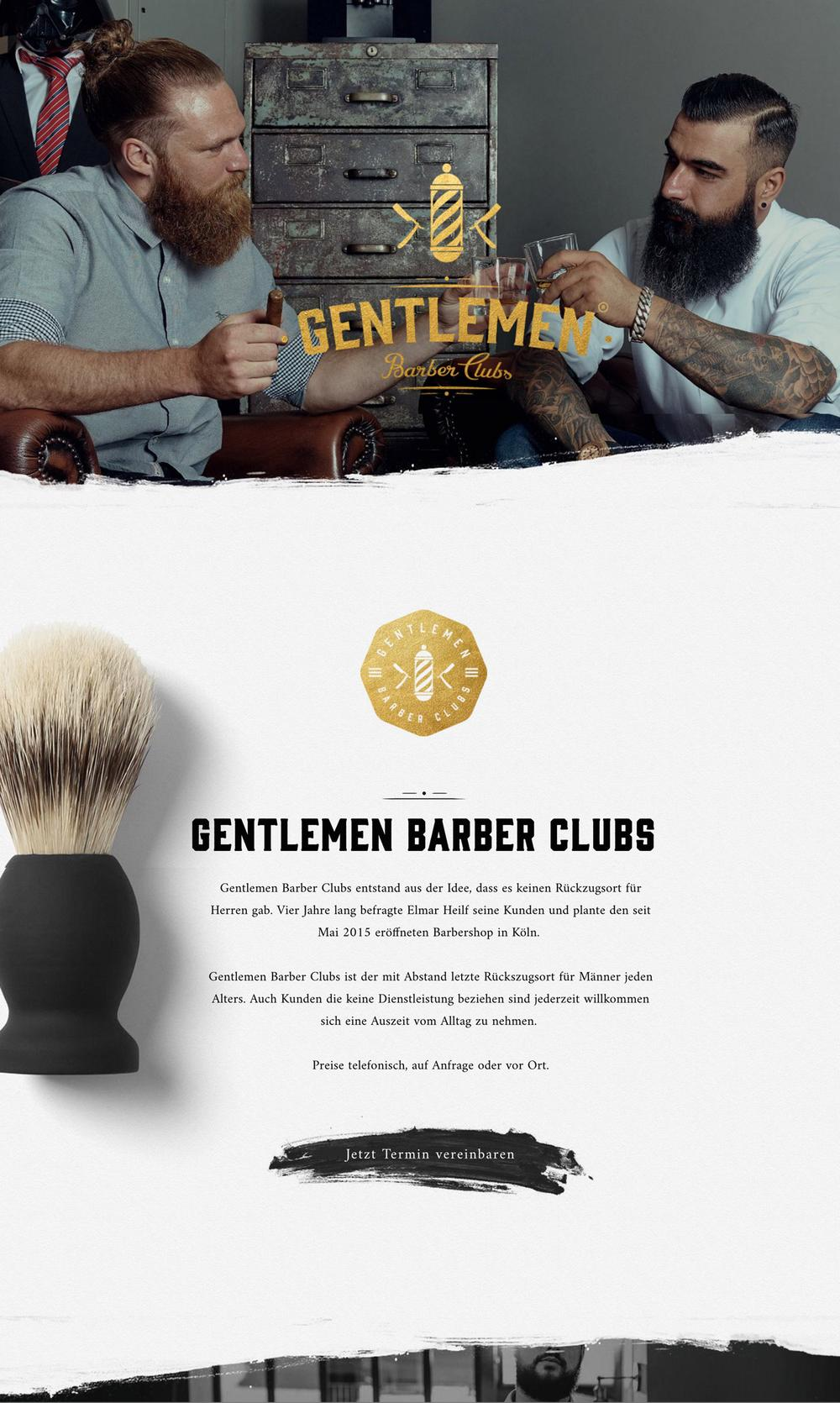 Gentlement - Manly color schemes for websites - gold and black