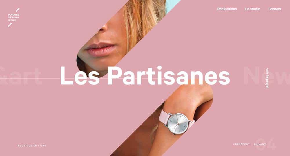 Pink Web Design Inspiration - European