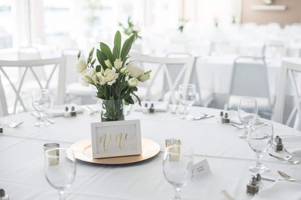 Wedding Graphic Design Inspiration - Place setting
