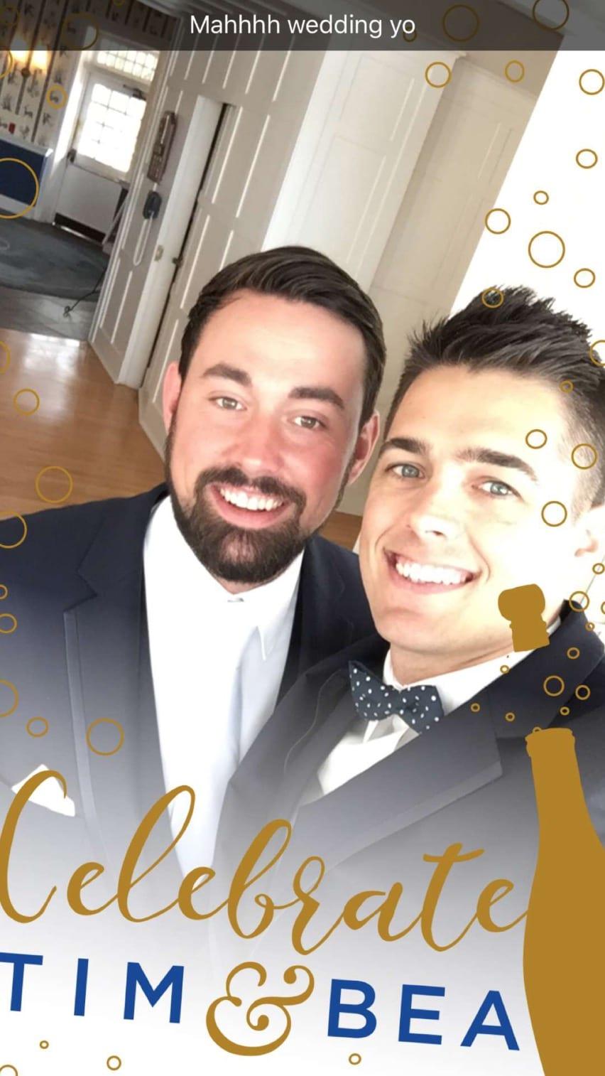 Snapchat inspiration for wedding filter