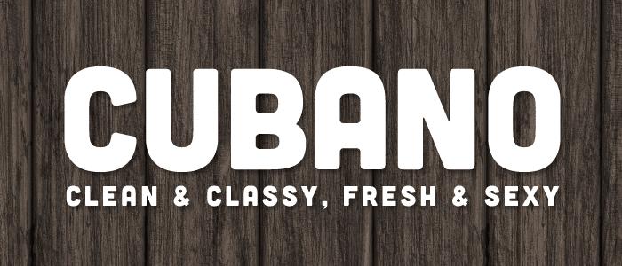 Cubano Hipster Fonts