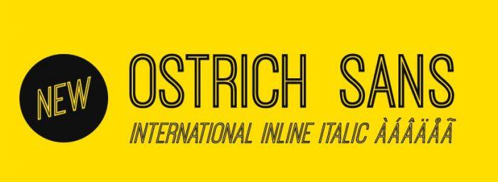 Ostrich Sans - Best Free Hipster Fonts