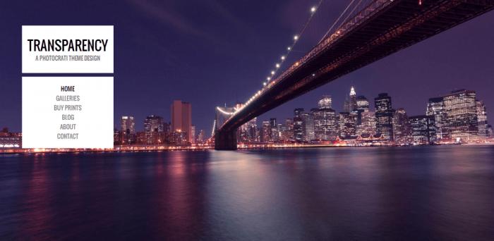 best free photographers themes - bridge design