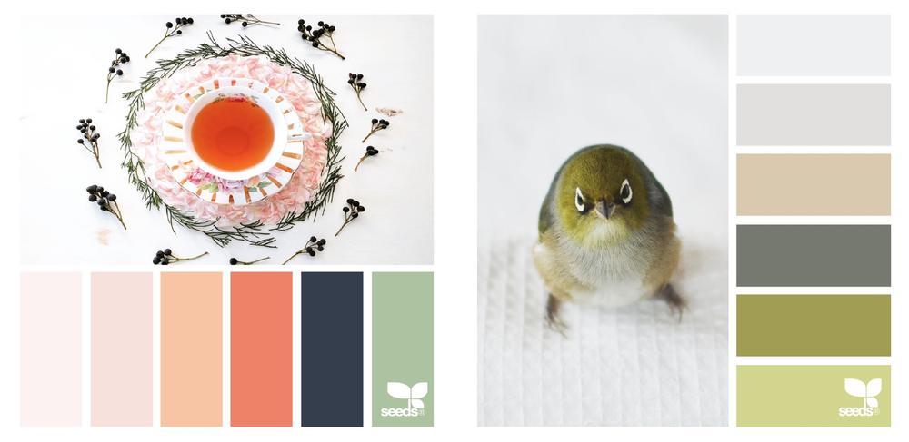 Color Schemes 2017 - Design seeds palettes 2017
