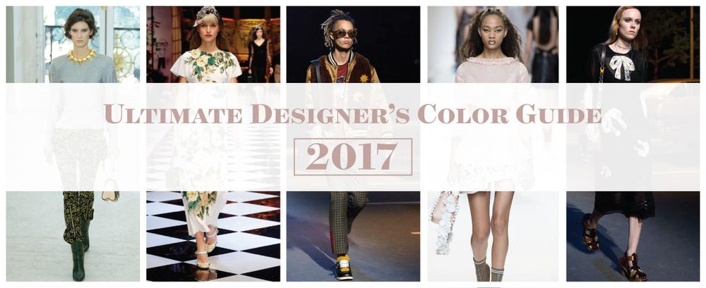 Ultimate Designers Color Guide 2017