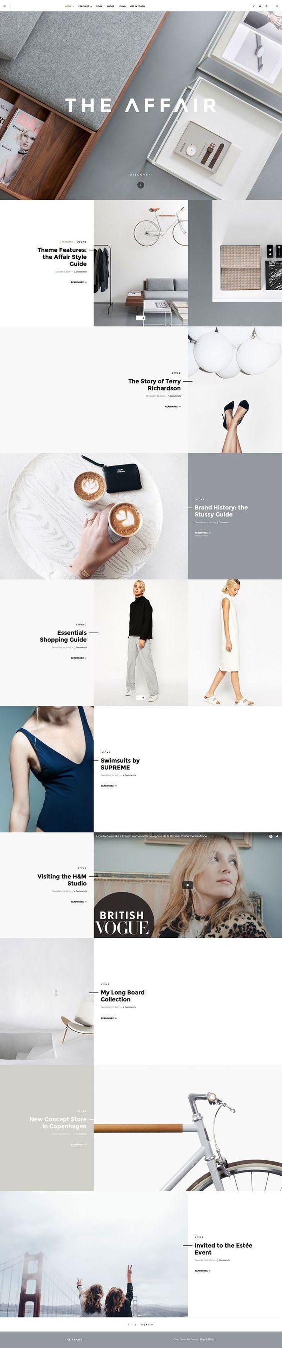 Minimal Web design examples