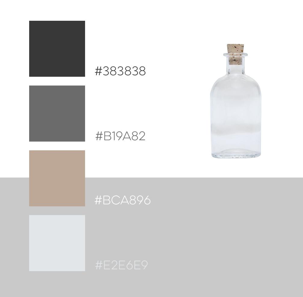 Tan, Simple feminine color scheme - Visual design and web design