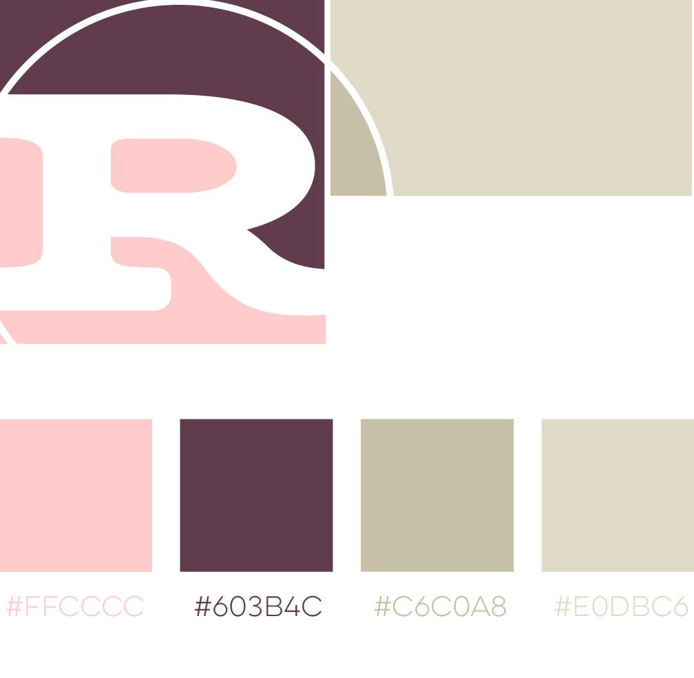 Feminine Color Schemes - Pink, Purple, Tan