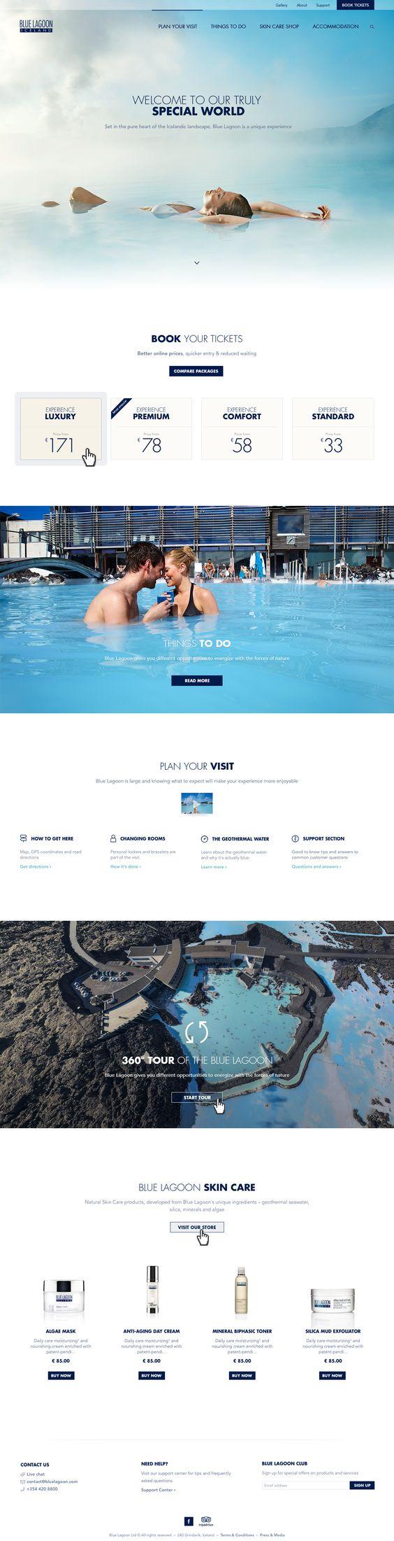 Blue Gradient - web color schemes 2017