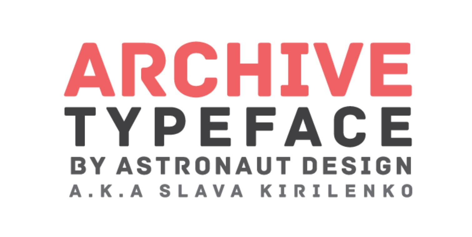 Archive Typeface
