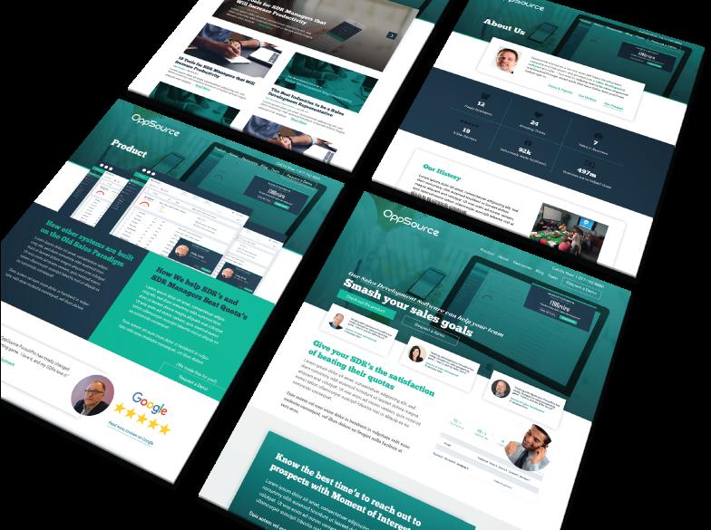 Oppsource- Minnesota Startup Web Design
