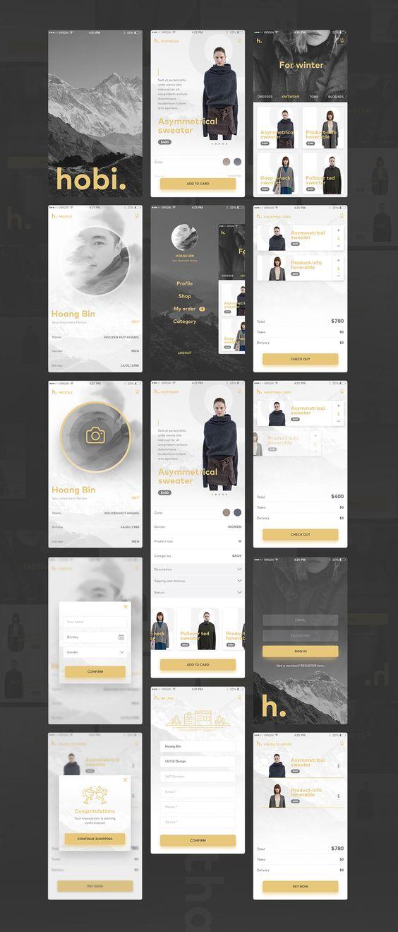 App Design Dark
