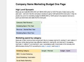 Marketing Plan Templates 27 Amazing Free Tools